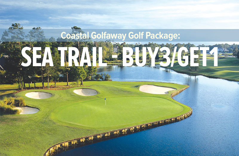 Sea Trail Resort Buy 3 Get 1 Golf Package from Coastal Golfaway